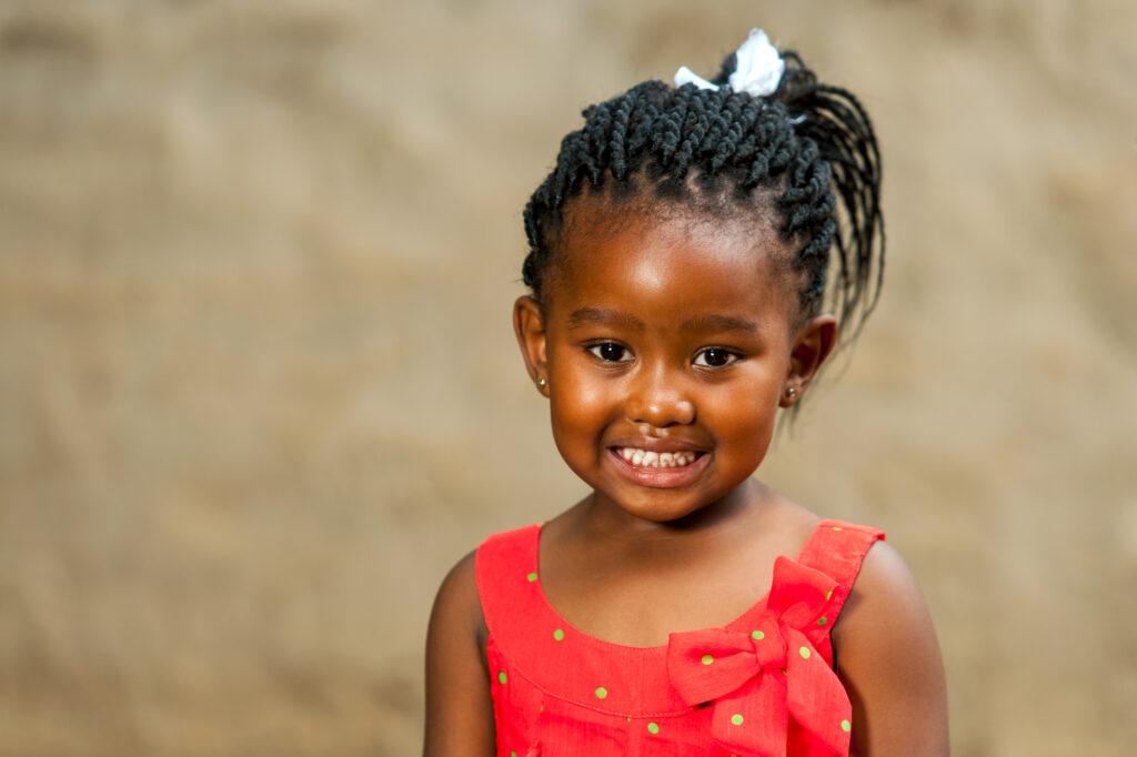 Little African Girl.